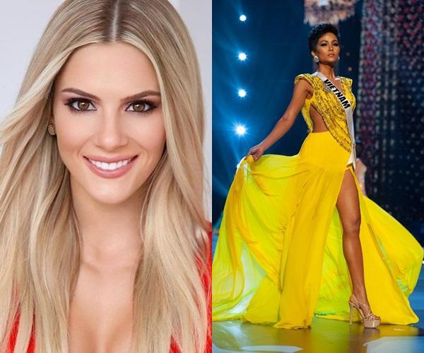 1 năm sau Miss Universe, cú xoay váy của HHen Niê vẫn khiến dàn mỹ nữ thế giới phải trầm trồ-1