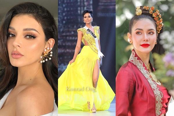 1 năm sau Miss Universe, cú xoay váy của HHen Niê vẫn khiến dàn mỹ nữ thế giới phải trầm trồ-2