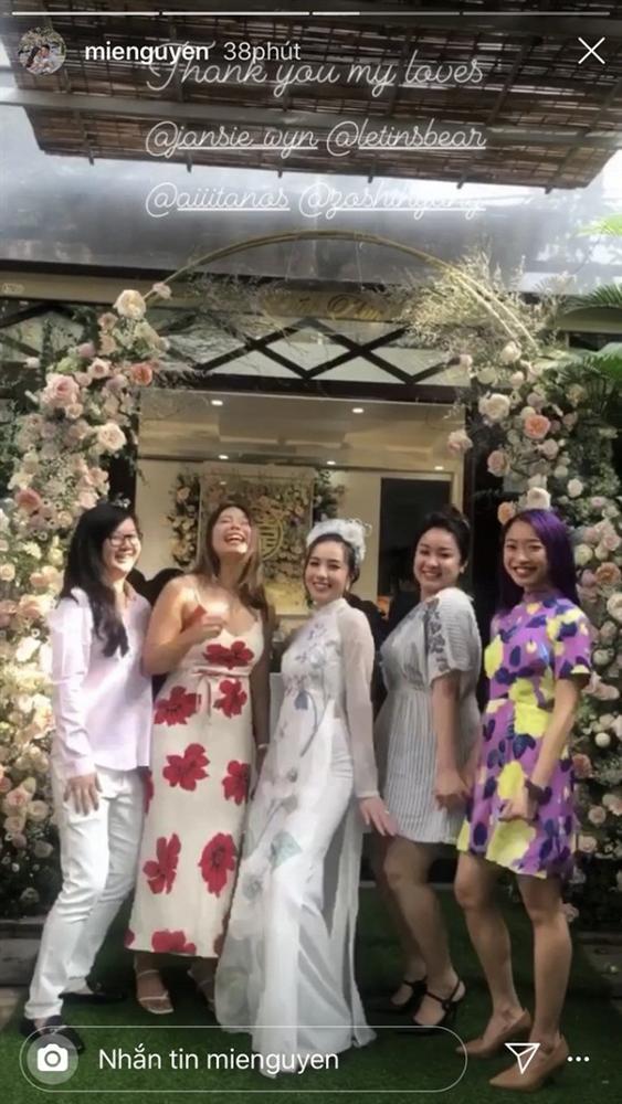 Hotgirl Mie Nguyễn làm lễ đính hôn với bạn trai vào sáng nay-3