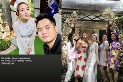 Hotgirl Mie Nguyễn làm lễ đính hôn với bạn trai vào sáng nay