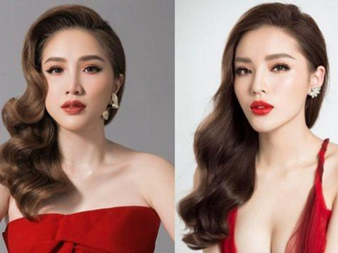 Thợ photoshop non tay hô biến tóc mới cho Bảo Thy còn khuyến mãi thêm vầng trán hồng rực-7