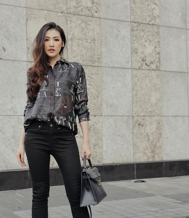 Elly Trần khoe vòng eo 54 cm, Bảo Anh khai thác triệt để đôi chân thon dài-10