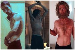 Sao nam thế giới tự 'hành xác' vì vai diễn: Loạt nam thần được ví như 'người cao su' vì tăng giảm hàng chục cân trong thời gian ngắn