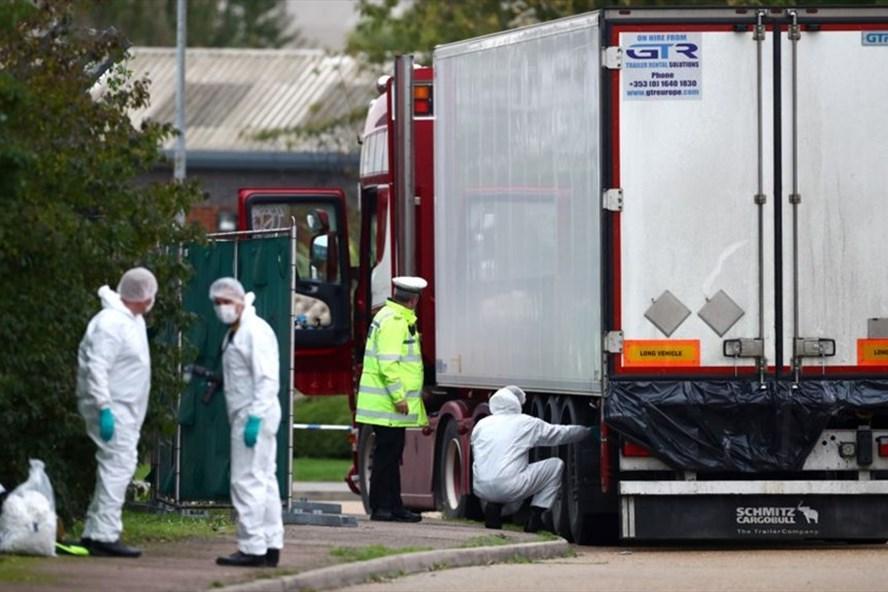 39 người tử vong trong container ở Anh đều là người Việt Nam-1
