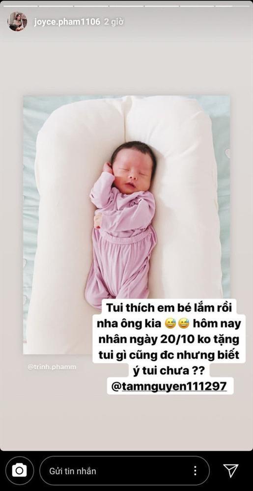 Lần đầu khoe bụng bầu lớn sau 2 tháng kết hôn, ngoại hình đổi khác của con gái Minh Nhựa thành tâm điểm-2