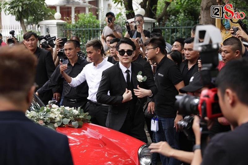 Xe hoa đã lăn bánh tới nhà chú rể Ông Cao Thắng-1