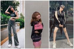 Elly Trần khoe vòng eo 54 cm, Bảo Anh khai thác triệt để đôi chân thon dài