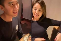 Chồng Chung Hân Đồng lộ video đi ăn với hotgirl dù luôn miệng khẳng định bận không có thời gian sinh con với vợ
