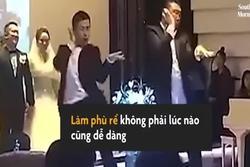 Hai phù rể chiếm 'spotlight' trong đám cưới nhờ bài nhảy