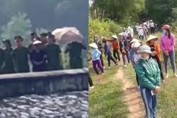 Vụ thi thể nữ sinh lớp 6 mất tích nổi trên đập nước: Bà nội lạnh lùng thực nghiệm hiện trường