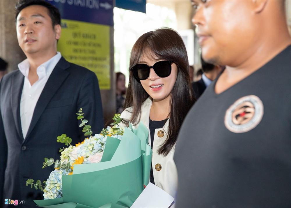 Mỹ nhân Hàn Quốc Ha Ji Won tham dự sự kiện ở Việt Nam-2