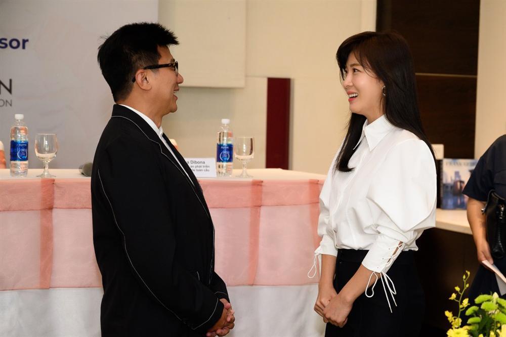 Mỹ nhân Hàn Quốc Ha Ji Won tham dự sự kiện ở Việt Nam-3