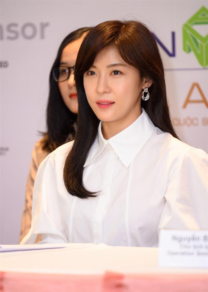 Mỹ nhân Hàn Quốc Ha Ji Won tham dự sự kiện ở Việt Nam-5