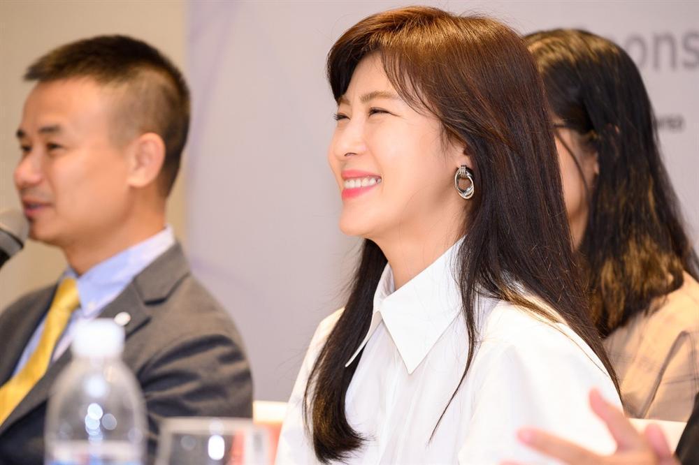 Mỹ nhân Hàn Quốc Ha Ji Won tham dự sự kiện ở Việt Nam-7