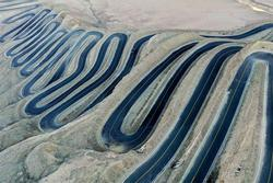 Cung đường qua núi với 600 khúc cua ở Trung Quốc