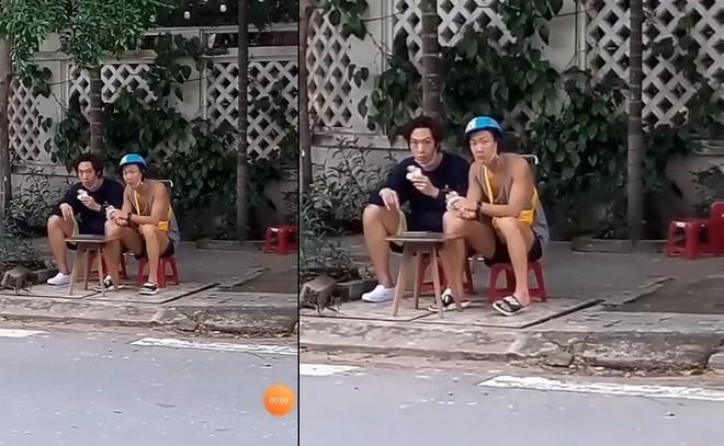 Ngôi sao Kpop ngồi lề đường ăn bánh mì ở Đà Nẵng-2