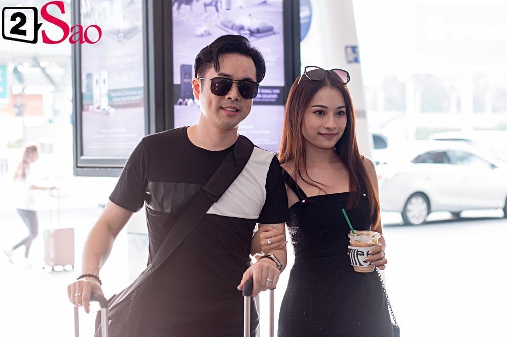 Dàn sao Việt đổ bộ sân bay đi đám cưới Đông Nhi: Diệu Nhi khoe quà, Nhã Phương lẻ bóng-9