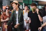 Khổng Tú Quỳnh chạm mặt Ngô Kiến Huy khi tới lễ cưới Đông Nhi