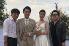 TRỰC TIẾP: Đông Nhi diện váy cưới tinh khôi, cùng Ông Cao Thắng hân hoan đón khách
