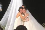 Ông Cao Thắng bật khóc trong hôn lễ: Cảm ơn em đã để anh chăm sóc em và con của chúng ta-2
