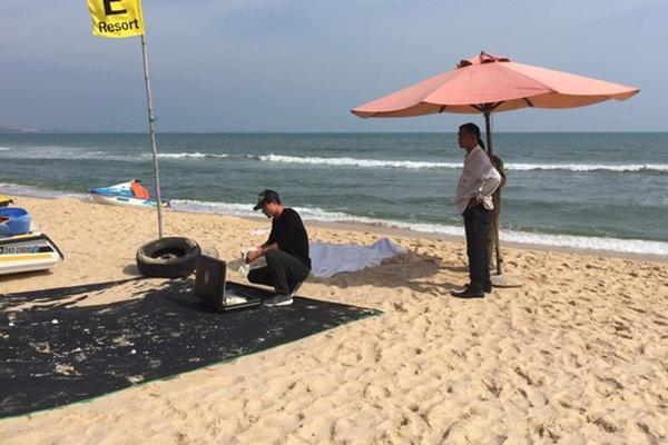 Du khách Nga đuối nước ở Bình Thuận-1