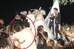 'Gái ế' Ngô Thanh Vân giãy giụa khi bị ép buộc nhận hoa cưới của Đông Nhi