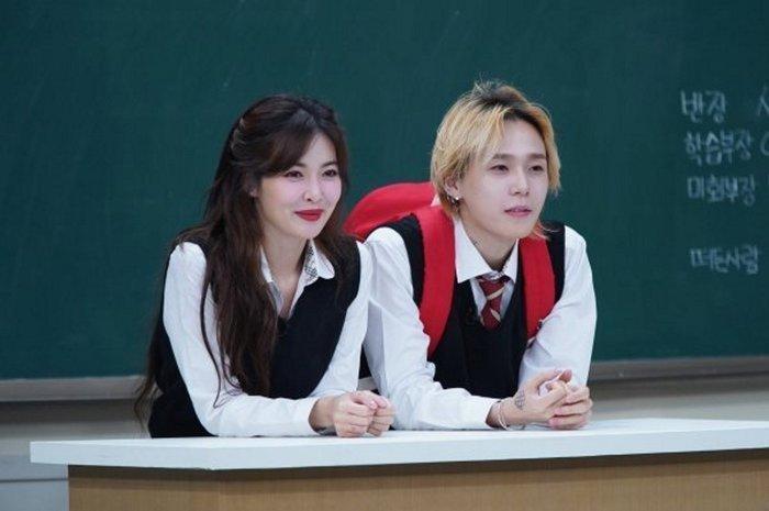 Xinh đẹp kiêu kỳ là vậy, hóa ra HyunA là người cảm nắng Dawn trước-3