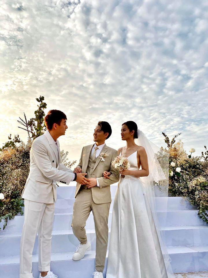 Lầy như sao Việt dự đám cưới Đông Nhi: Ngô Kiến Huy đá xéo cô dâu, Thu Minh tưởng mình là nhân vật chính-5