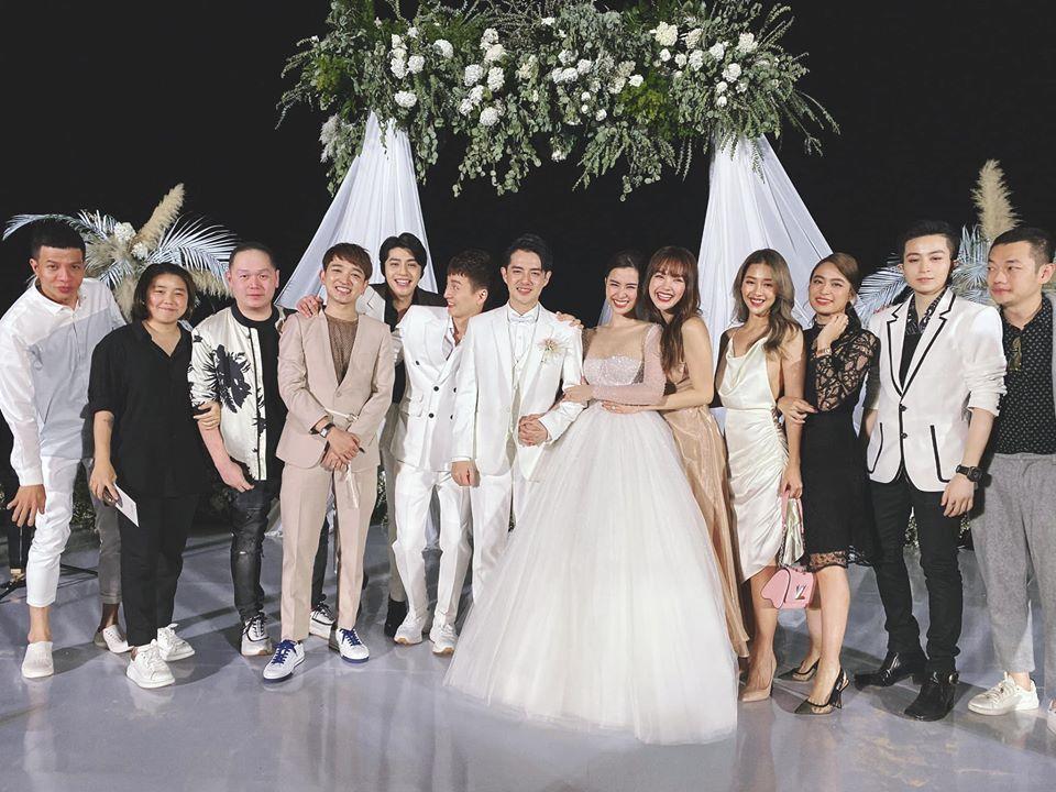 Lầy như sao Việt dự đám cưới Đông Nhi: Ngô Kiến Huy đá xéo cô dâu, Thu Minh tưởng mình là nhân vật chính-11