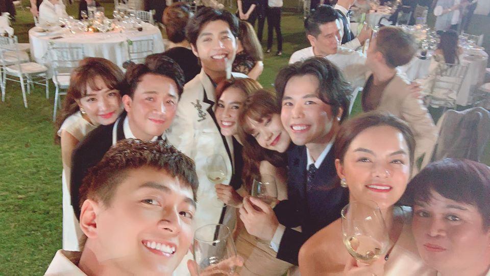 Lầy như sao Việt dự đám cưới Đông Nhi: Ngô Kiến Huy đá xéo cô dâu, Thu Minh tưởng mình là nhân vật chính-12