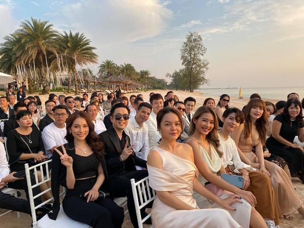 Chuyện chỉ có ở đám cưới Đông Nhi: Vẫn có người lệch dress code, Minh Hằng khâu váy, BB Trần mặc đầm cưới-2