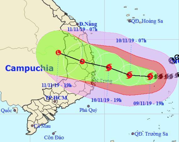 Dự báo thời tiết 10/11: Nín thở đợi bão số 6, hơn 24.000 quân ứng trực-1