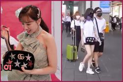 Ý nghĩa bất ngờ của chiếc túi xách mà Hari Won đeo đi dự đám cưới của Đông Nhi