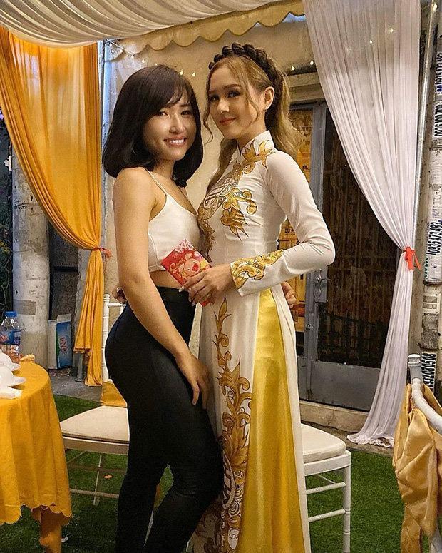 Mặc đồ gym đến dự đám hỏi bạn thân, hotgirl đình đám mạng xã hội Việt làm người xem tranh cãi gắt-1