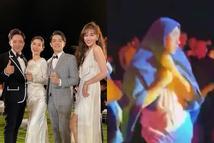 Trấn Thành 'tạo nghiệp' trong đám cưới Đông Nhi, Hari Won khổ sở vì phải gánh thay hậu quả