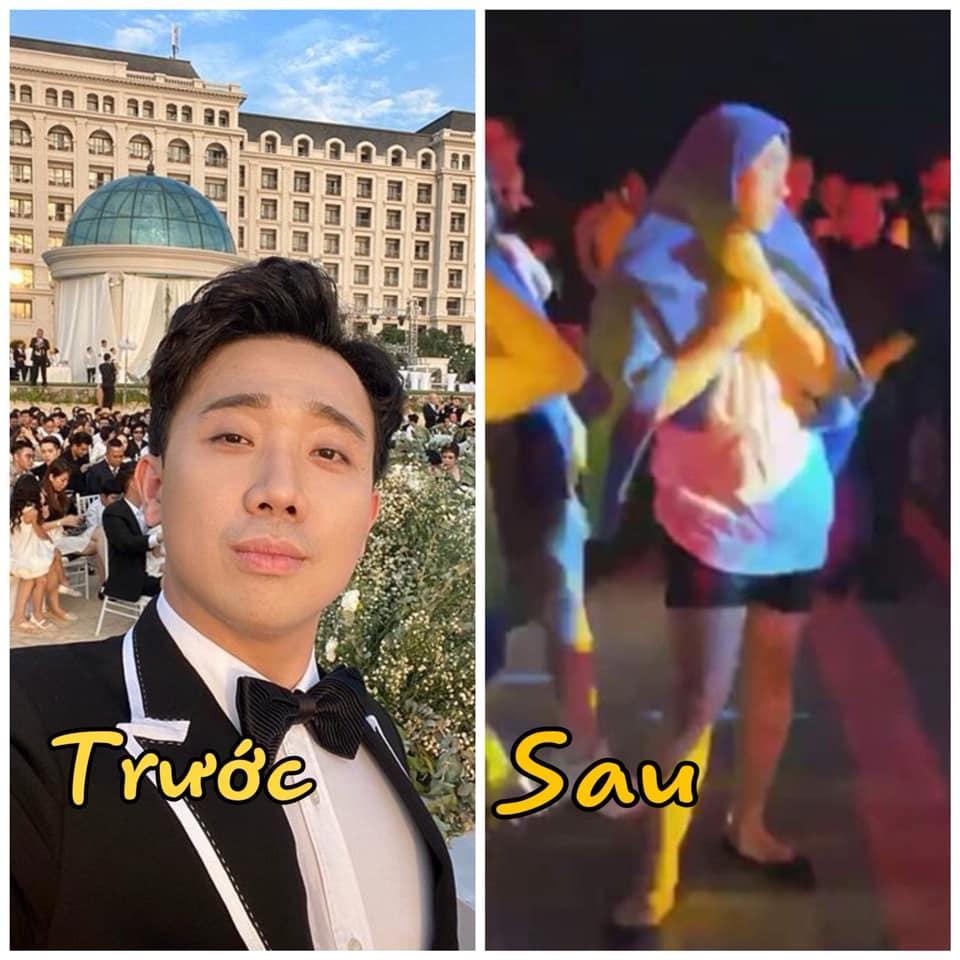 Trấn Thành tạo nghiệp trong đám cưới Đông Nhi, Hari Won khổ sở vì phải gánh thay hậu quả-4