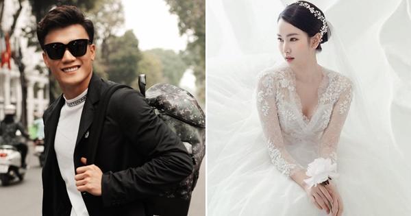 Thực hư việc MC xinh đẹp VTV mặc váy cưới chuẩn bị lên xe hoa cùng thủ môn Bùi Tiến Dũng-1