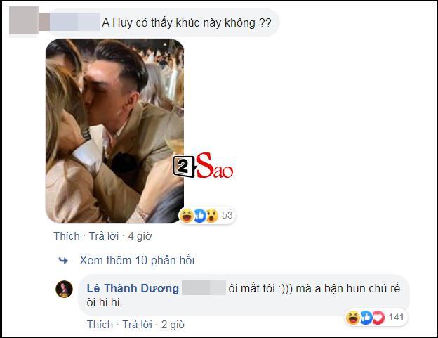 Phản ứng bất ngờ của Ngô Kiến Huy khi chứng kiến Isaac hôn tình cũ Khổng Tú Quỳnh-2