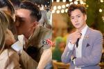 Phản ứng bất ngờ của Ngô Kiến Huy khi chứng kiến Isaac hôn tình cũ Khổng Tú Quỳnh