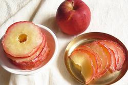 Cách làm snack táo truyền thống của Hàn Quốc