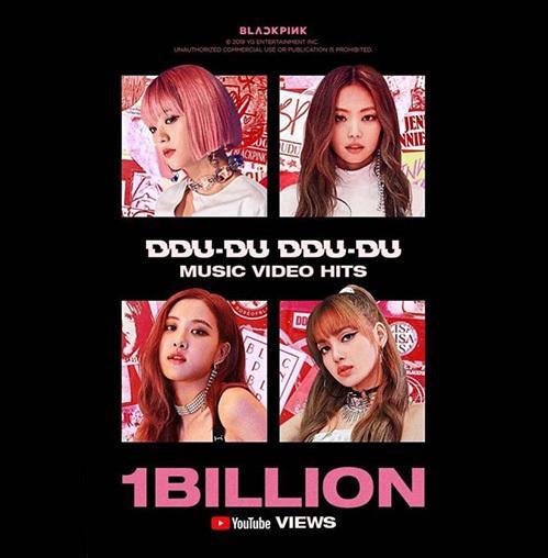 Black Pink là idol group Kpop đầu tiên có MV đạt 1 tỷ view-1