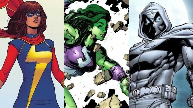 3 siêu anh hùng mới sẽ xuất hiện trong Vũ trụ Marvel-1