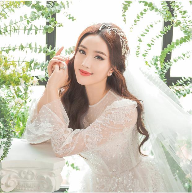 Bảo Thy tung ảnh cưới đẹp ngất ngây, mặc thiết kế cô dâu tương tự Công nương Kate Middleton-1
