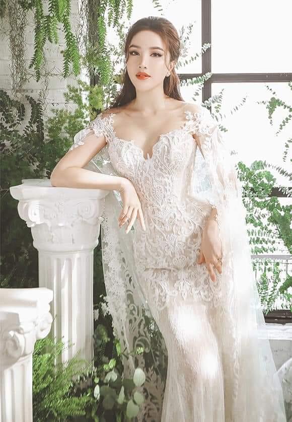 Bảo Thy tung ảnh cưới đẹp ngất ngây, mặc thiết kế cô dâu tương tự Công nương Kate Middleton-5