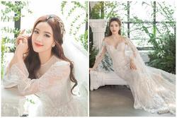 Bảo Thy tung ảnh cưới đẹp ngất ngây, mặc thiết kế cô dâu tương tự Công nương Kate Middleton