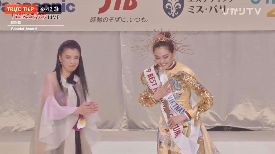 Tường San trượt top 5 gây tiếc nuối, Thái Lan đăng quang Miss International 2019-1
