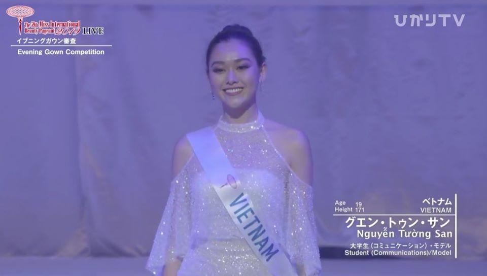Loạt trang phục giúp Tường San ghi dấu ấn tại Miss International 2019 cho tới khi lọt top 8-14