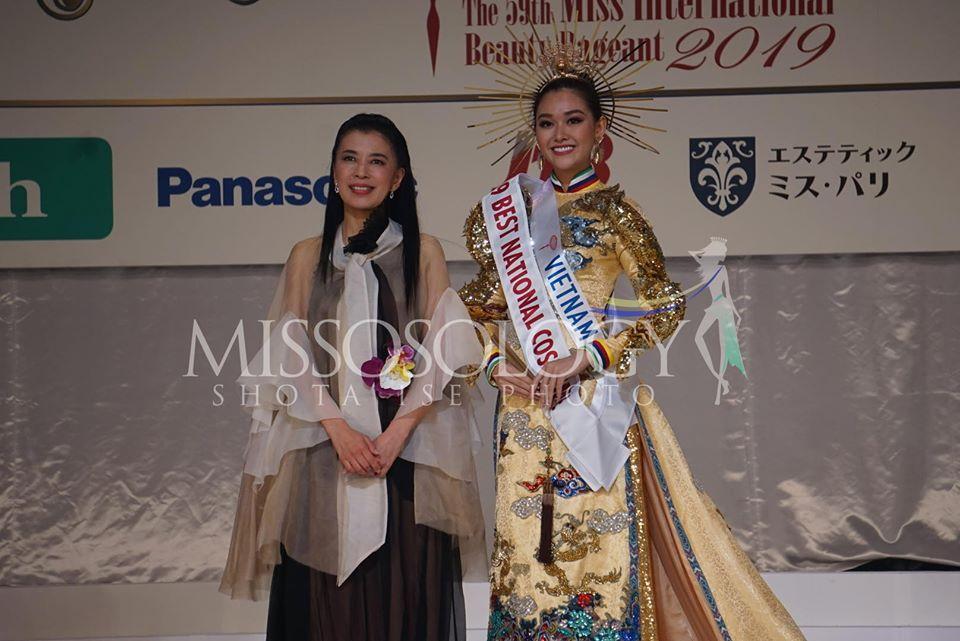 Tường San trượt top 5 gây tiếc nuối, Thái Lan đăng quang Miss International 2019-3