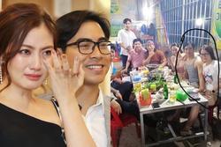 Giữa tin đồn ly hôn Ngọc Lan, diễn viên Thanh Bình bị lộ ảnh thân mật với cô gái lạ giữa đám đông