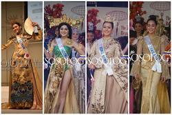 Top 10 quốc phục xuất sắc Miss International 2019, trong đó Tường San đoạt trang phục đẹp nhất
